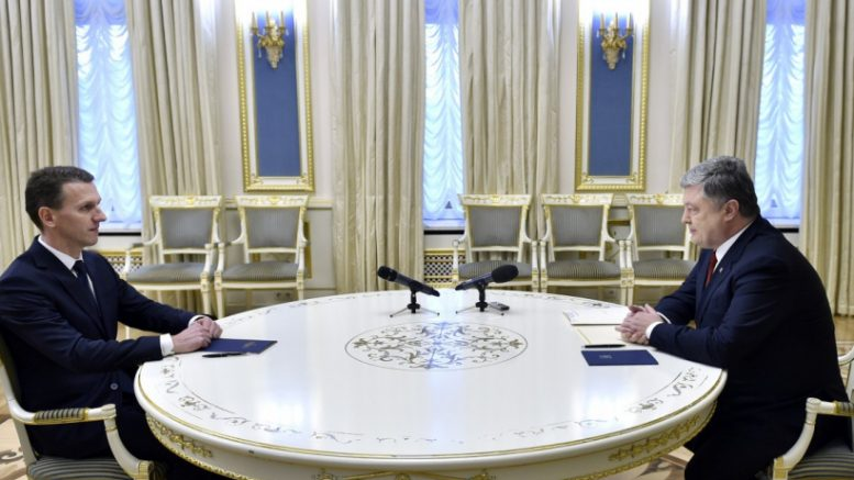 Труба і Порошенко