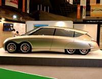 Найшвидший у світі електромобіль Eliica. Світлина club.ldf.ru